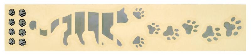 Jockomo Fret Mark-Cats Footprints