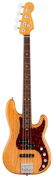 AM Ultra P Bass RW AgedNatural Fender