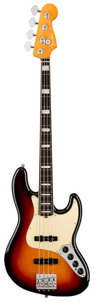 AM Ultra J Bass RW Ultraburst Fender