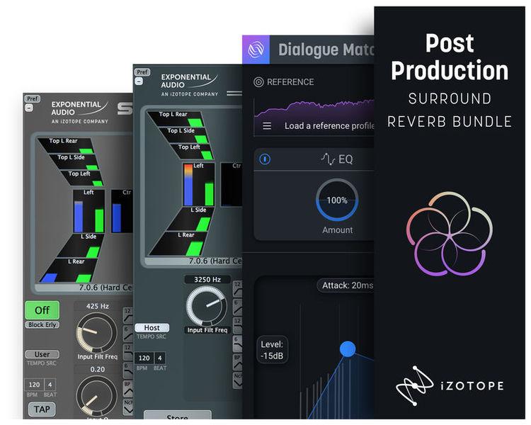 iZotope Post Pro Surround Reverb Bdl