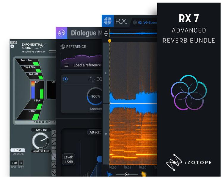 iZotope RX 7 Advanced Reverb Bundle
