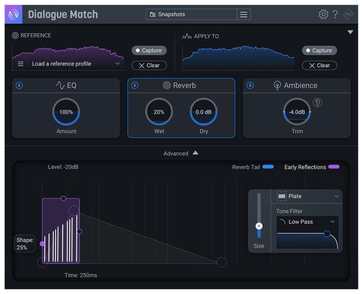iZotope Dialogue Match CG RX Standard