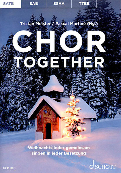 Schott Chor Together Christmas SATB