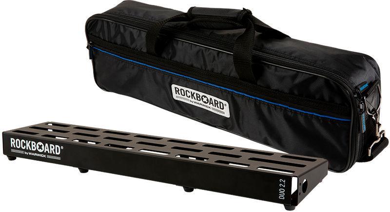 Pedalboard w.Gig Bag DUO 2.2 Rockboard