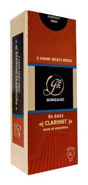 Gonzalez RC Basso Clarinet Reed 3,25