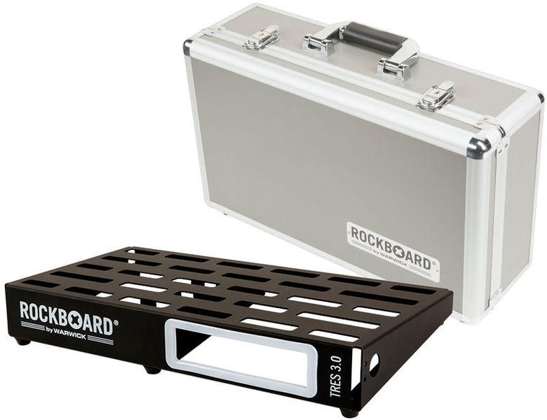 Rockboard Pedalboard w. Case TRES 3.0