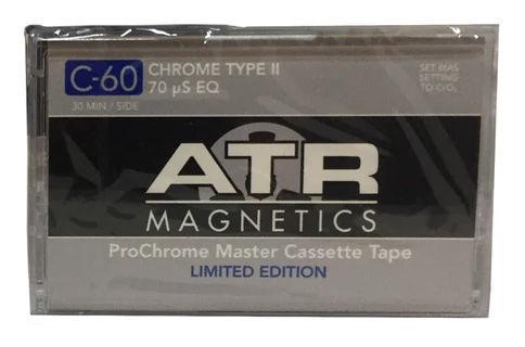 ATR Magnetics ProChrome Cassette C60