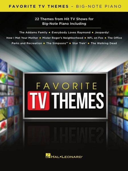 Hal Leonard Favorite TV Themes Piano