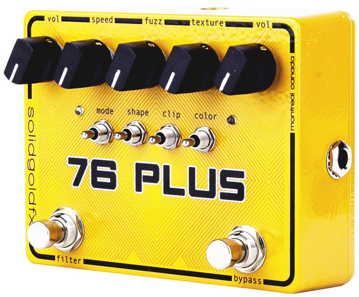 76 Plus Octave Fuzz & Filter Solid Gold FX