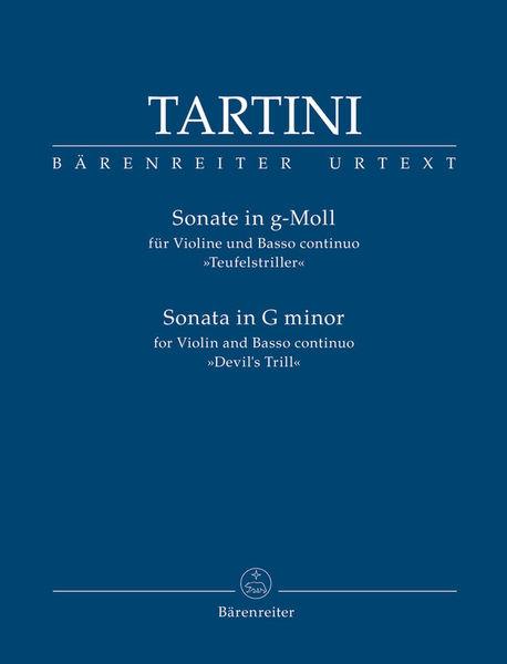 Bärenreiter Tartini Sonate g-Moll Violin