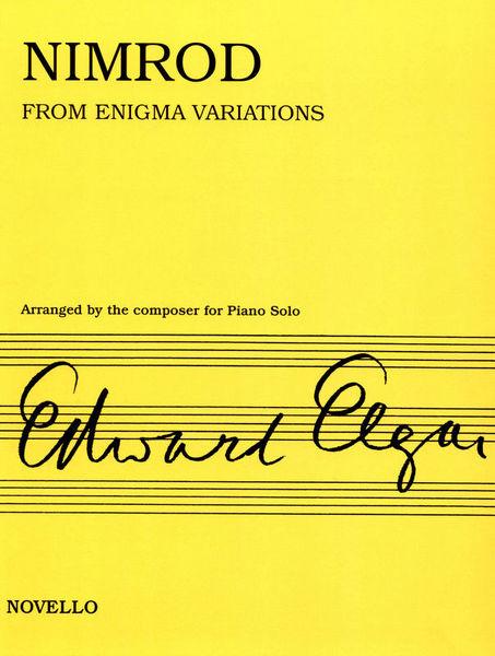 Novello & Co Ltd. Elgar Nimrod Piano