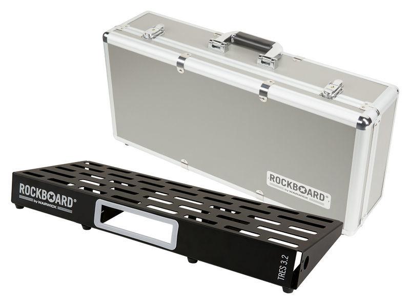 Pedalboard w. Case TRES 3.2 Rockboard