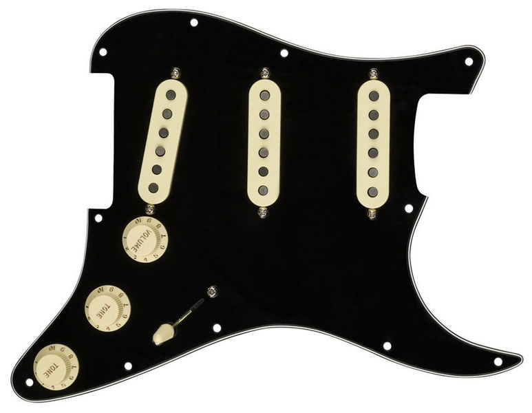 Pre-Wired ST Pickguard Texas Fender