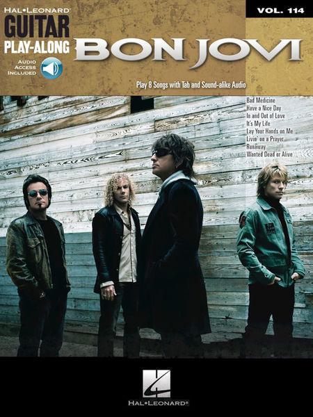Hal Leonard Guitar Play-Along Bon Jovi