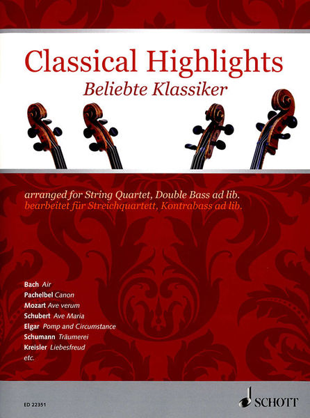 Schott Classical Highlights Quartet