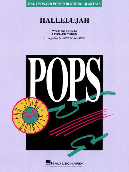 Hal Leonard L. Cohen Hallelujah String Qt.