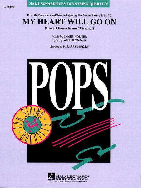 Hal Leonard My Heart Will Go On String Qt.