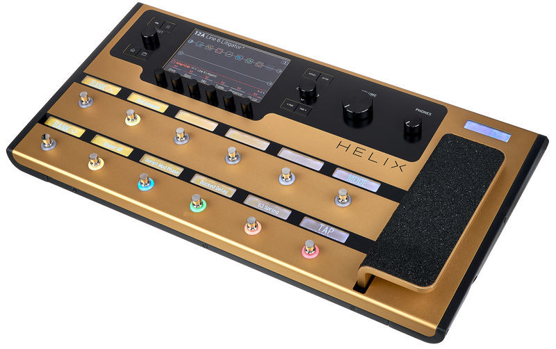 Line6 Helix Gold Guitar Processor