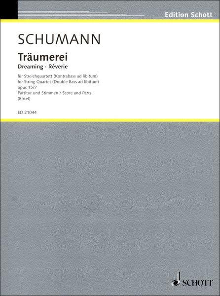 Schott Schumann Träumerei String Qt.