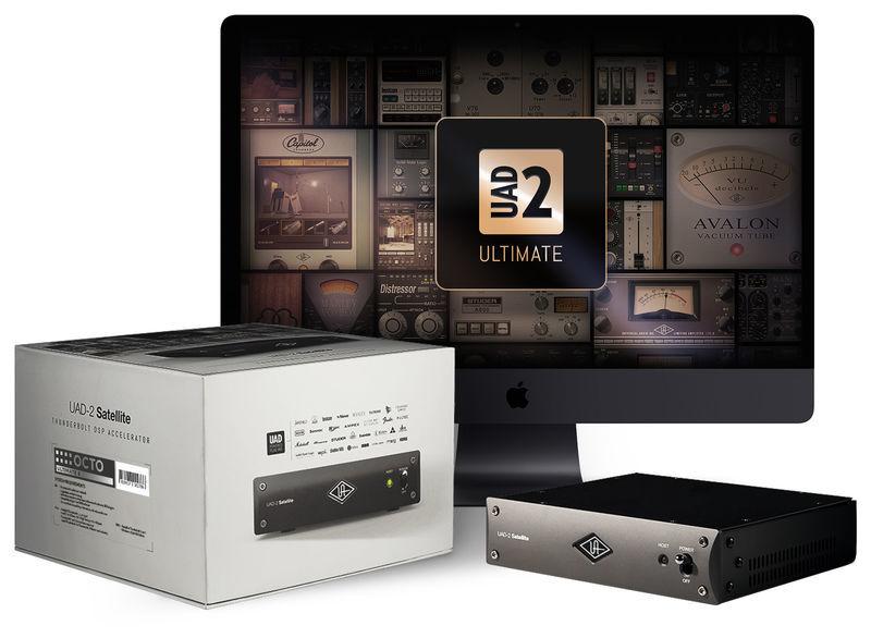 Universal Audio UAD-2 Satellite TB3 Octo Ulti.