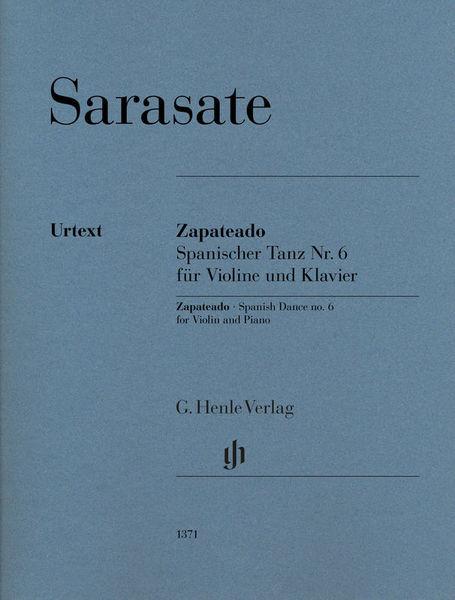 Henle Verlag Sarasate Zapateado Violin