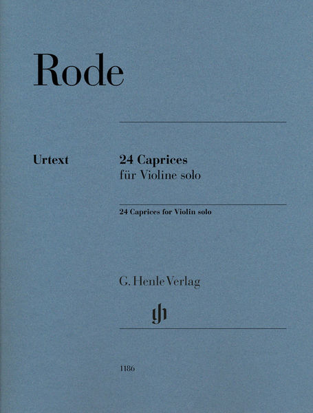 Henle Verlag Rode 24 Caprices Violin