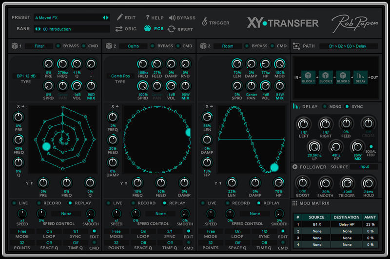 Rob Papen XY-Transfer