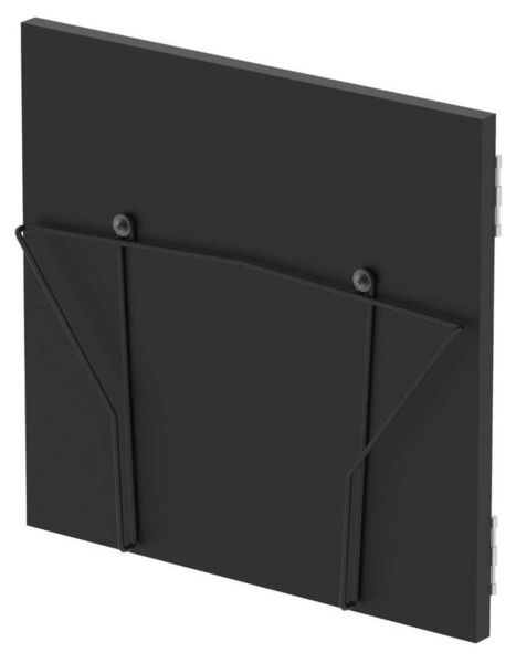 Record Box Display Door Black Glorious