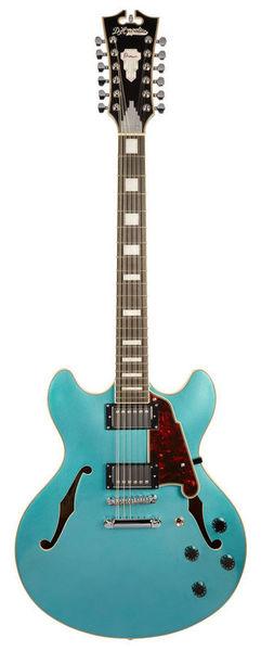 DAngelico Premier DC12 Ocean Turquoise