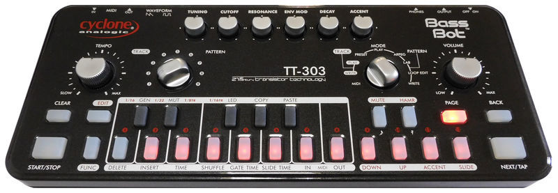 TT-303 Bass Bot Space Black Cyclone Analogic