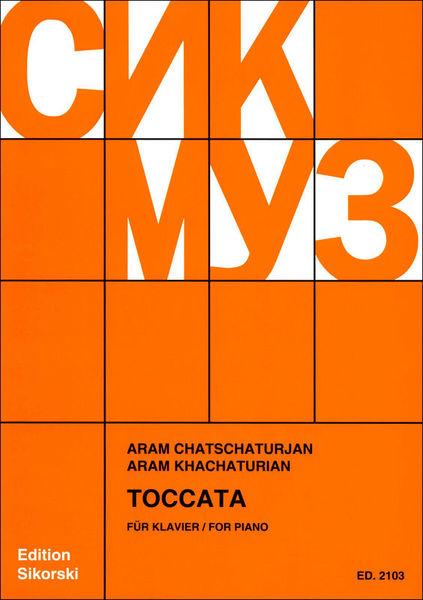 Sikorski Musikverlage Chatschaturian Toccata