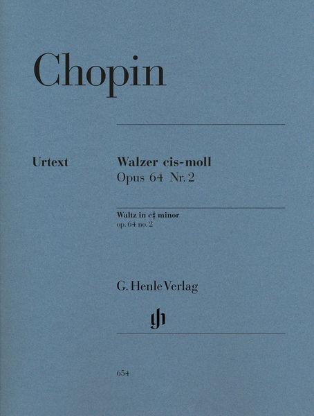 Henle Verlag Chopin Walzer cis-moll op.64