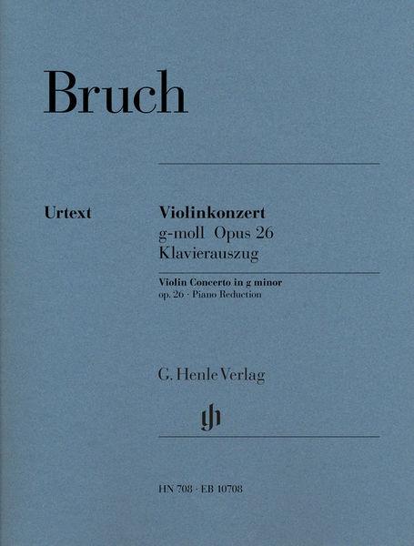 Bruch Violinkonzert g-moll Henle Verlag