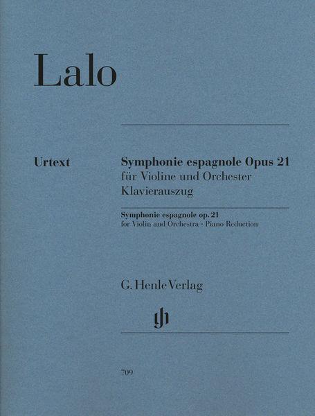 Lalo Symphonie espagnole Henle Verlag