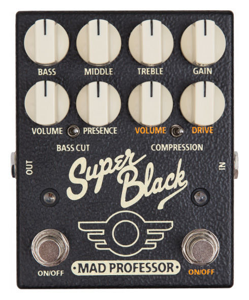 Mad Professor Super Black Boost/Overdrive