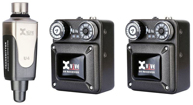 XVive U4 Wireless System Bundle 2R