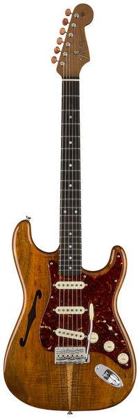Fender Artisan Strat Thinline Koa AN