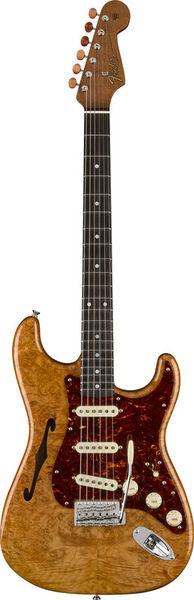 Fender Artisan Strat Thinline Burl AN