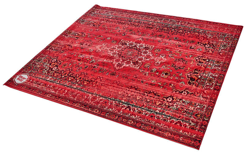 Drum N Base Vintage Drum Rug Red