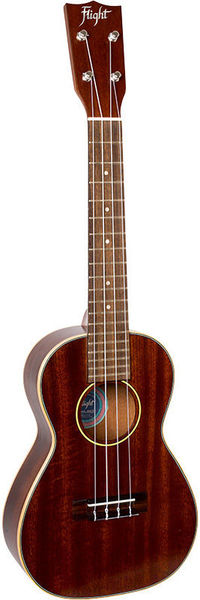All-solid Mahogany Concert Uku Flight