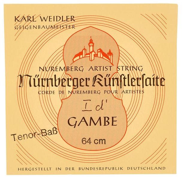 Weidler Tenor Viol D' String