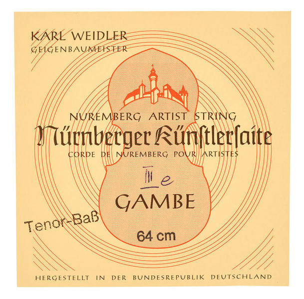 Weidler Tenor Viol E String