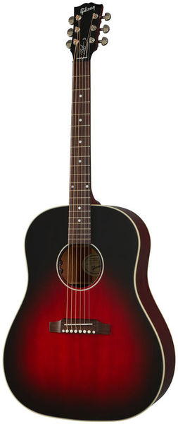 Slash J-45 Vermillion Burst Gibson