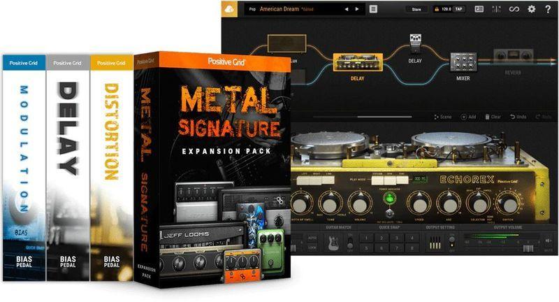 Positive Grid BIAS FX 2 Metal Edition