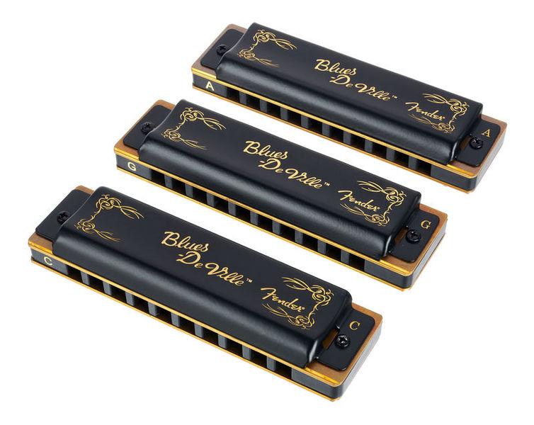 Fender Blues Deville 3 pack with case