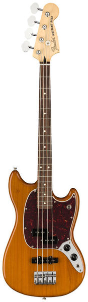 Mustang Bass PJ Aged Natural Fender