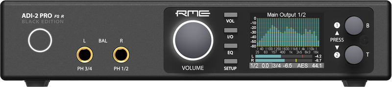ADI-2 Pro FS R Black Edition RME