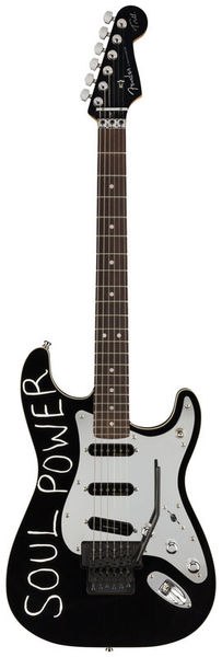 Fender Tom Morello Strat FR RW BLK