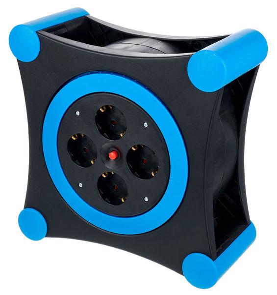 REV Ritter Cable Box X-Tra black - blue