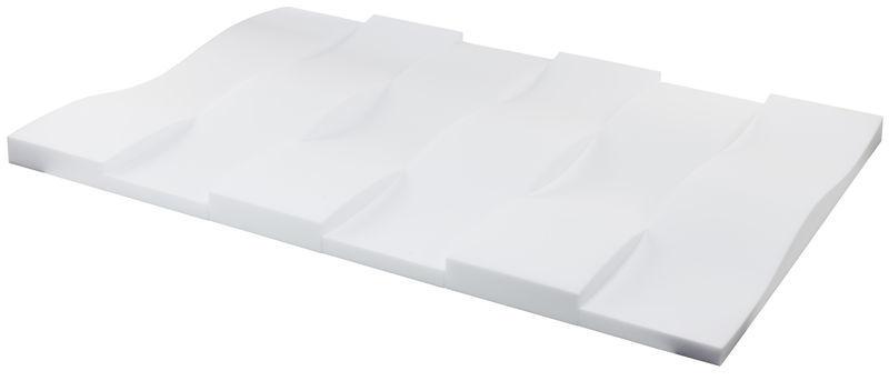 the t.akustik Melamine Wave 120 White